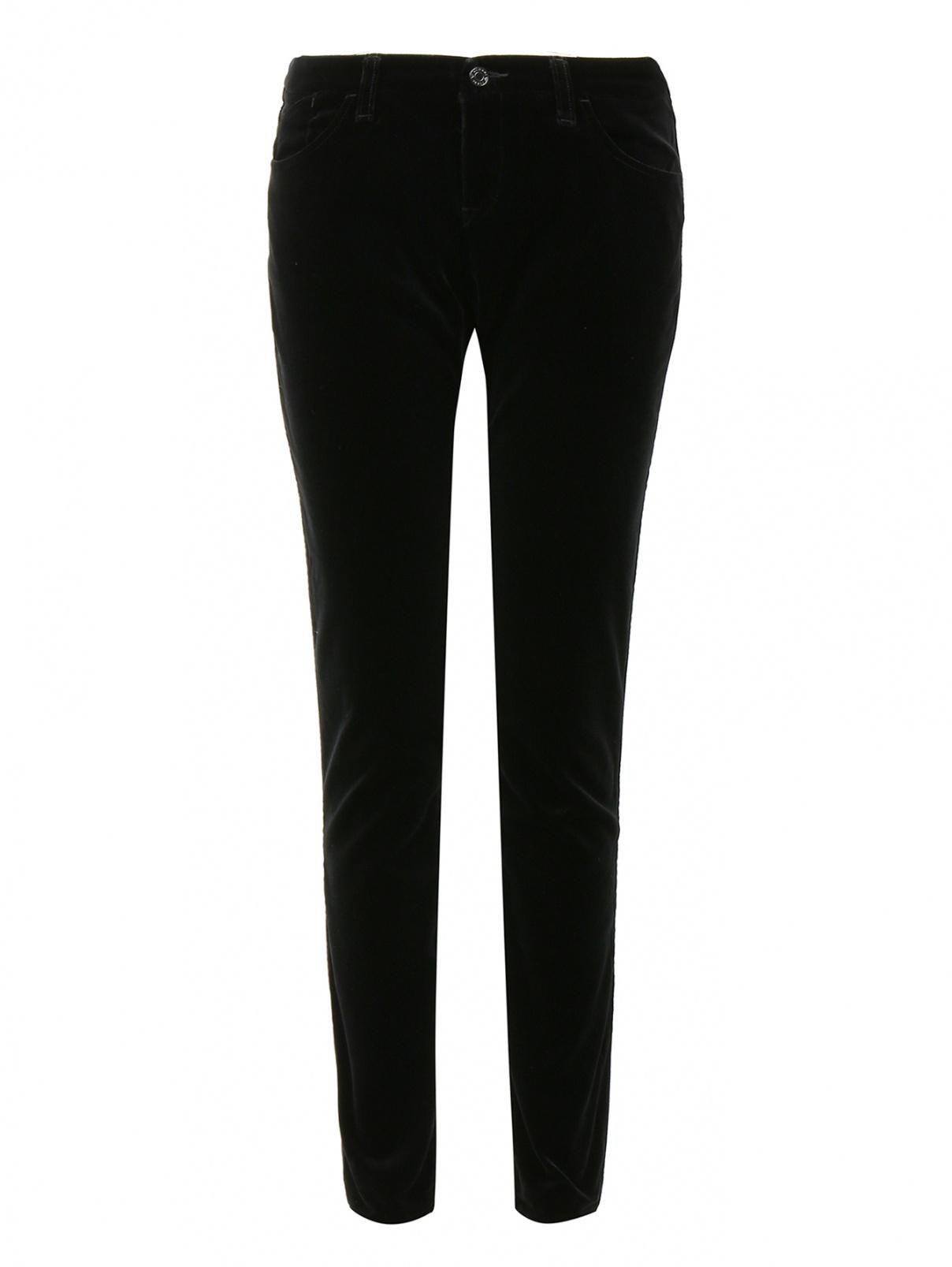 6d32eb78149 Armani Jeans черные вельветовые брюки заузившие кроя (210443) купить ...