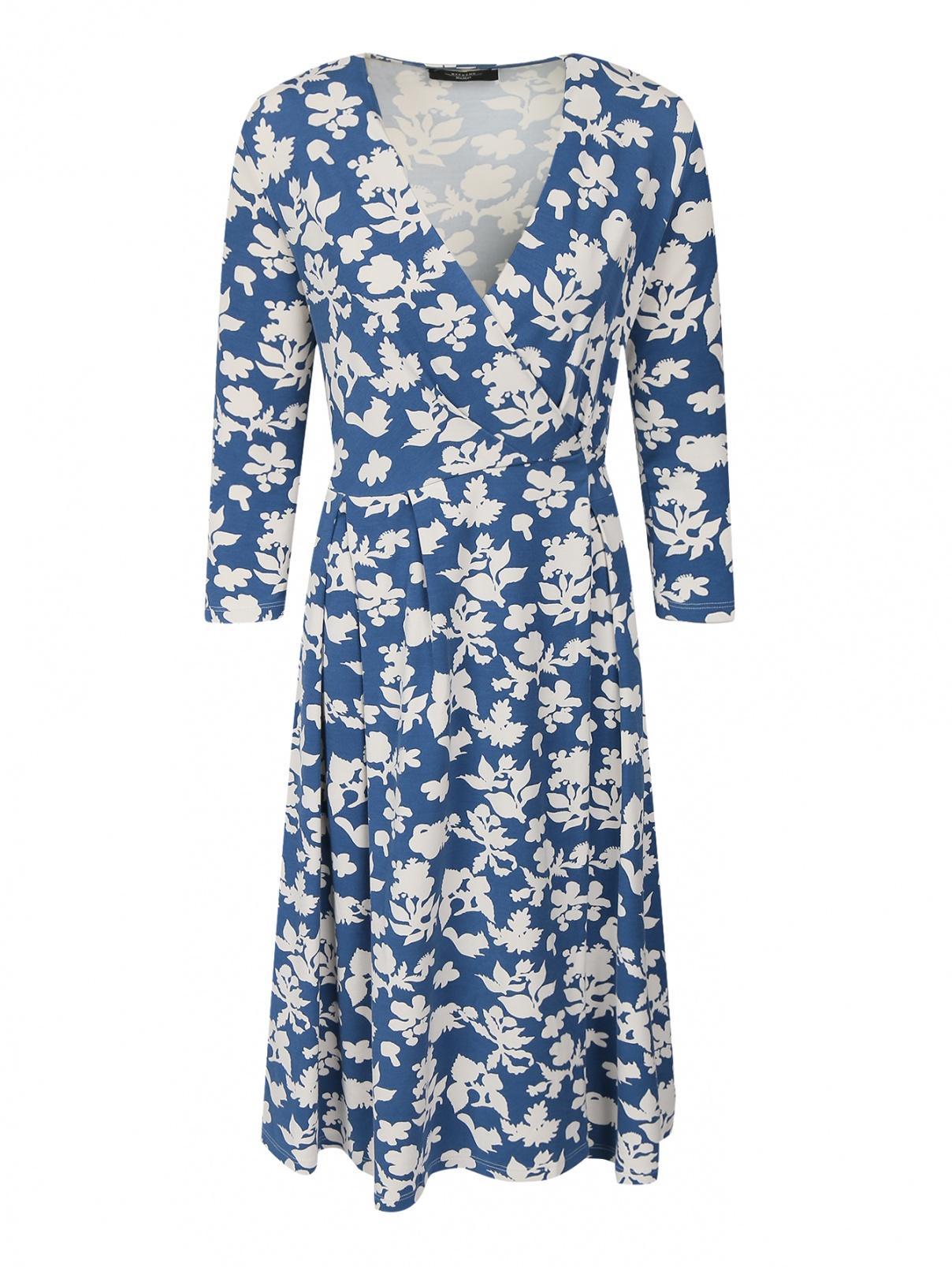 f1a1e37d5349 Трикотажное платье с узором