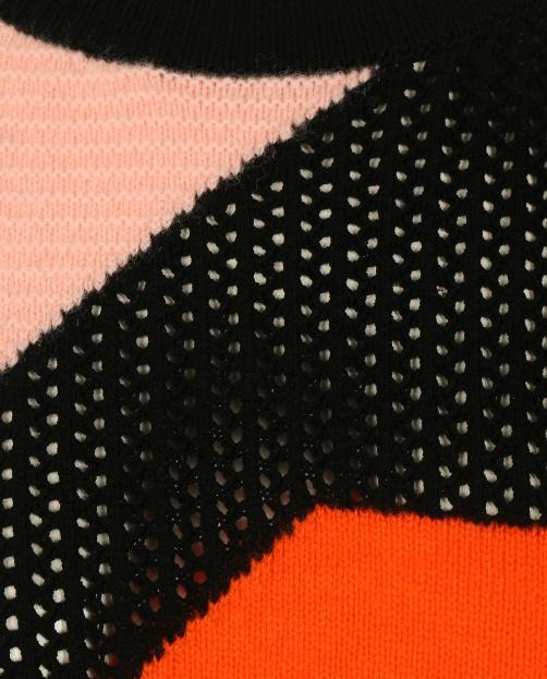 Джемпер из смешанной шерсти с круглым вырезом  - Общий вид