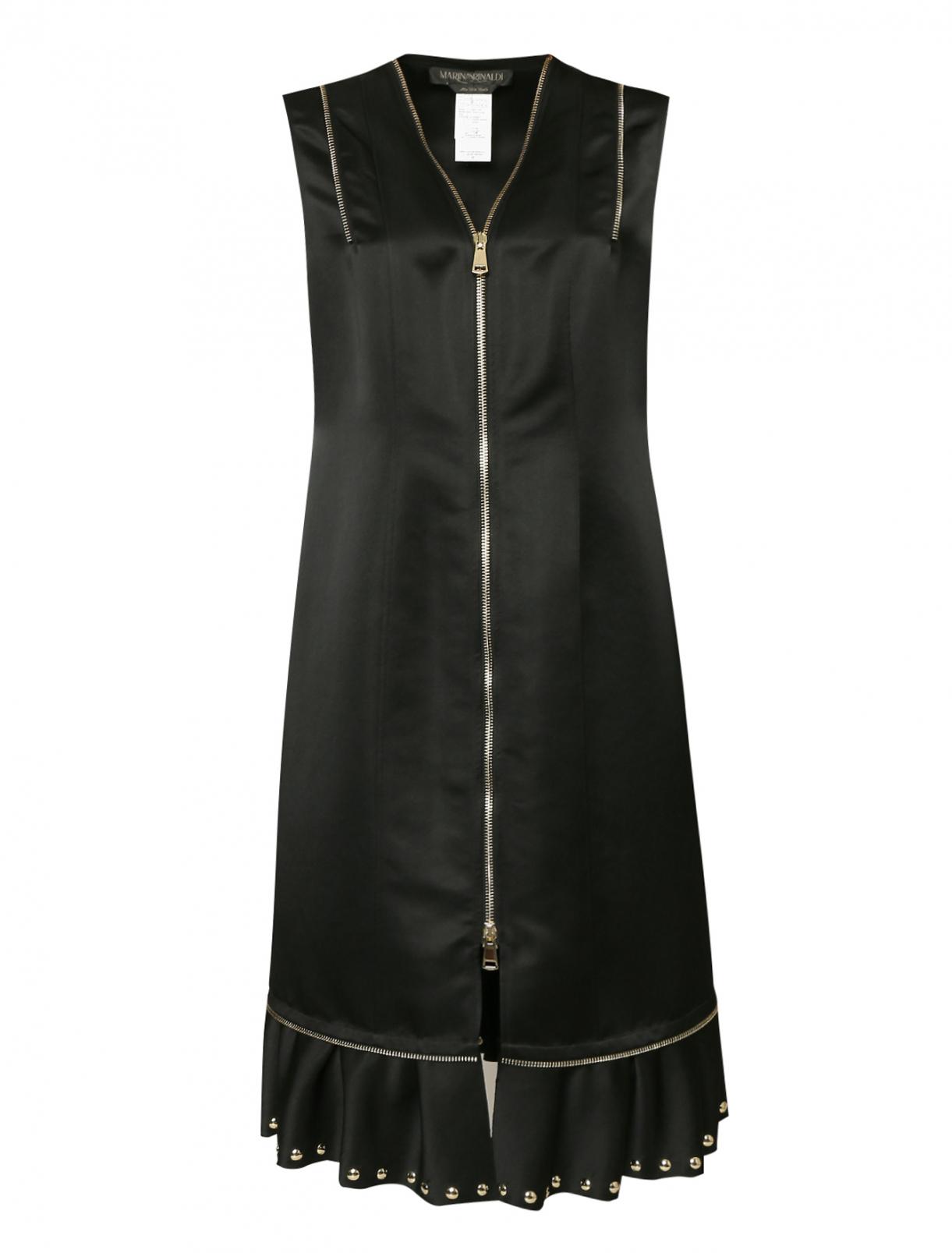 Платье из эластичной ткани на молнии Marina Rinaldi  –  Общий вид
