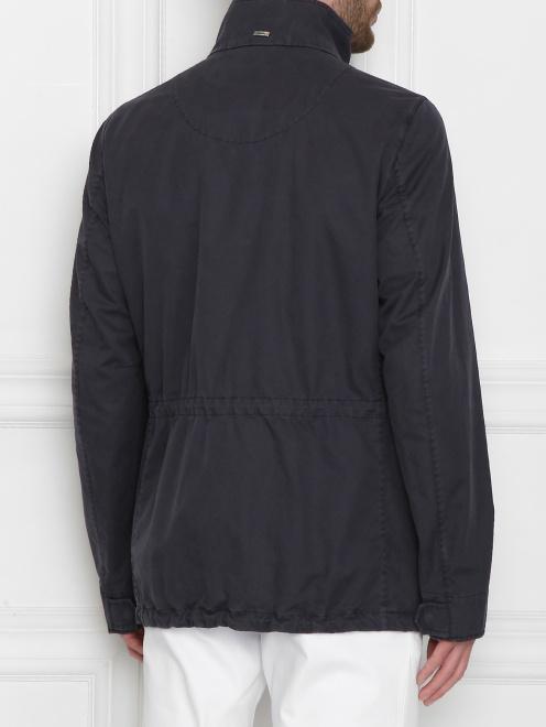 Куртка из хлопка, с накладными карманами  - МодельВерхНиз1