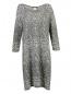 Платье из смешанной шерсти с узором Marina Sport  –  Общий вид