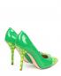 Туфли из лаковой кожи с узором Moschino Cheap&Chic  –  Обтравка2