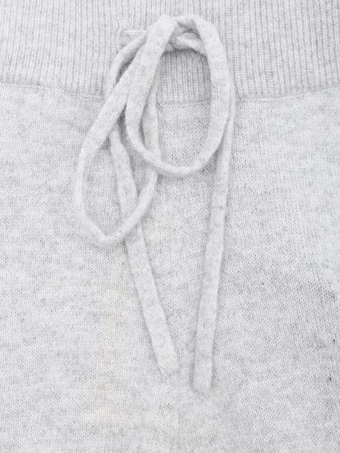 Брюки из кашемира свободного кроя на резинке - Деталь1