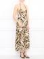 Платье-миди с узором и вырезом на спине Mariella Burani  –  Модель Общий вид