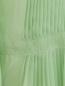 Платье-макси с высокой талией и асимметричными рукавами Alberta Ferretti  –  Деталь1