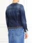 Джинсовая куртка декорированная стеклярусом 7 For All Mankind  –  Модель Верх-Низ1