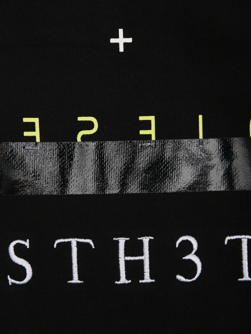 Платье трикотажное с принтом - Деталь1