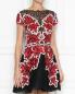 Платье из кружева с пайетками Zuhair Murad  –  МодельВерхНиз