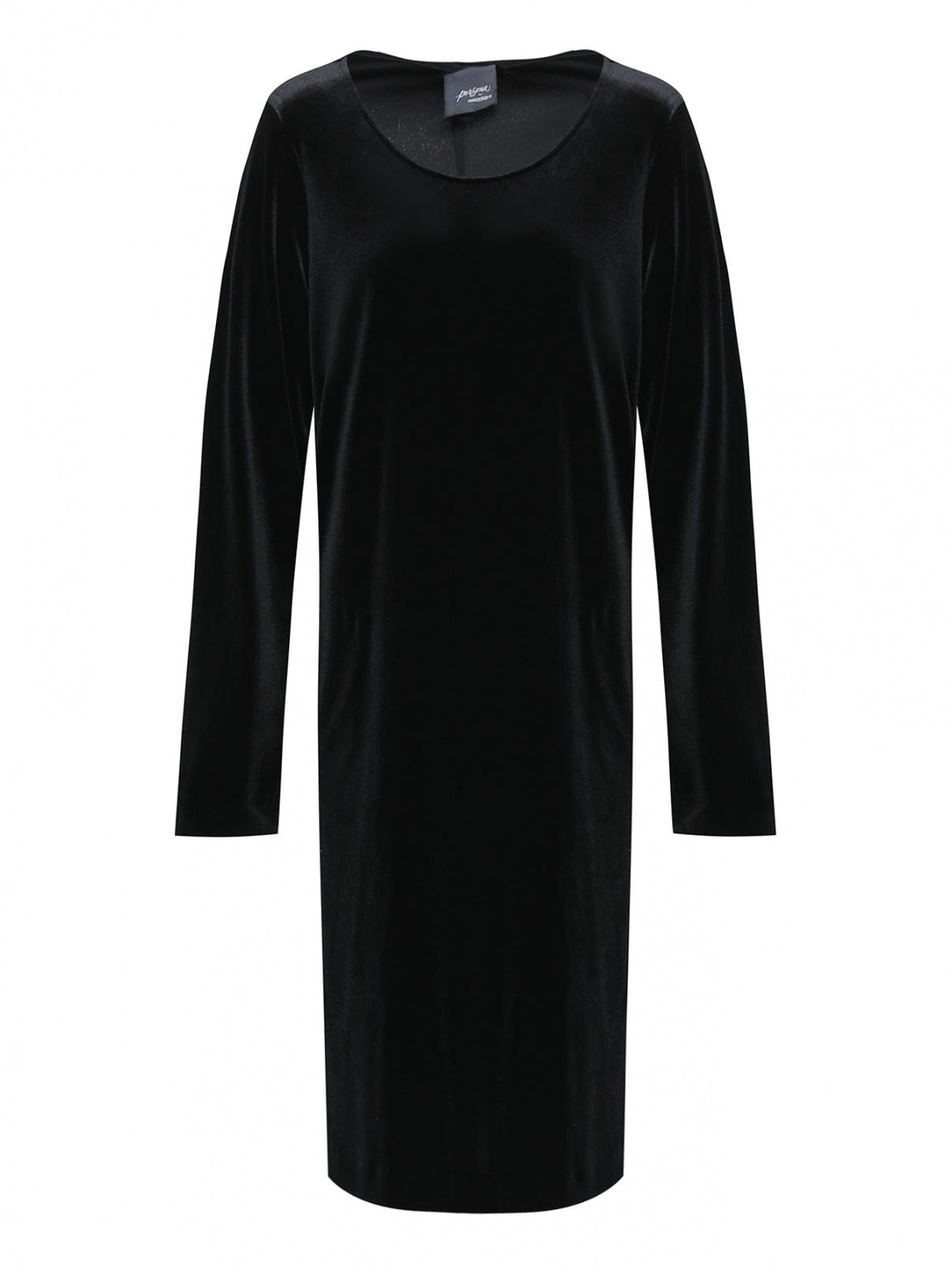 Платье прямого кроя, трикотажное Persona by Marina Rinaldi  –  Общий вид