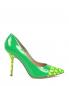 Туфли из лаковой кожи с узором Moschino Cheap&Chic  –  Обтравка1