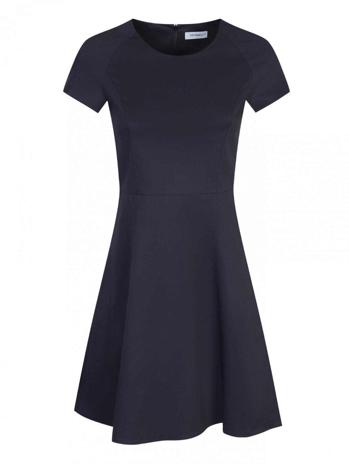 Платье-мини из хлопка с короткими рукавами Max&Co  –  Общий вид