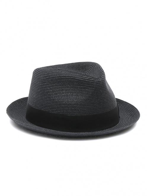 Шляпа из соломы с лентой  - Общий вид