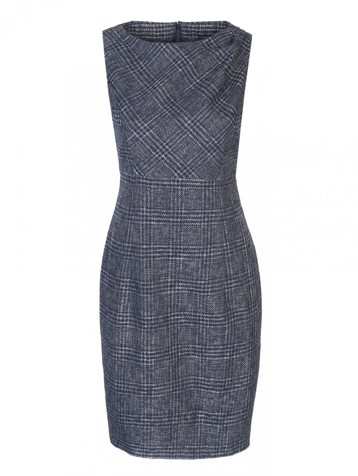 Платье-футляр без рукавов Brooks Brothers  –  Общий вид
