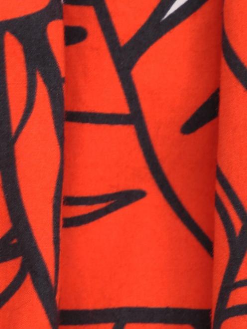 Блуза хлопковая в крестьянском стиле - Деталь