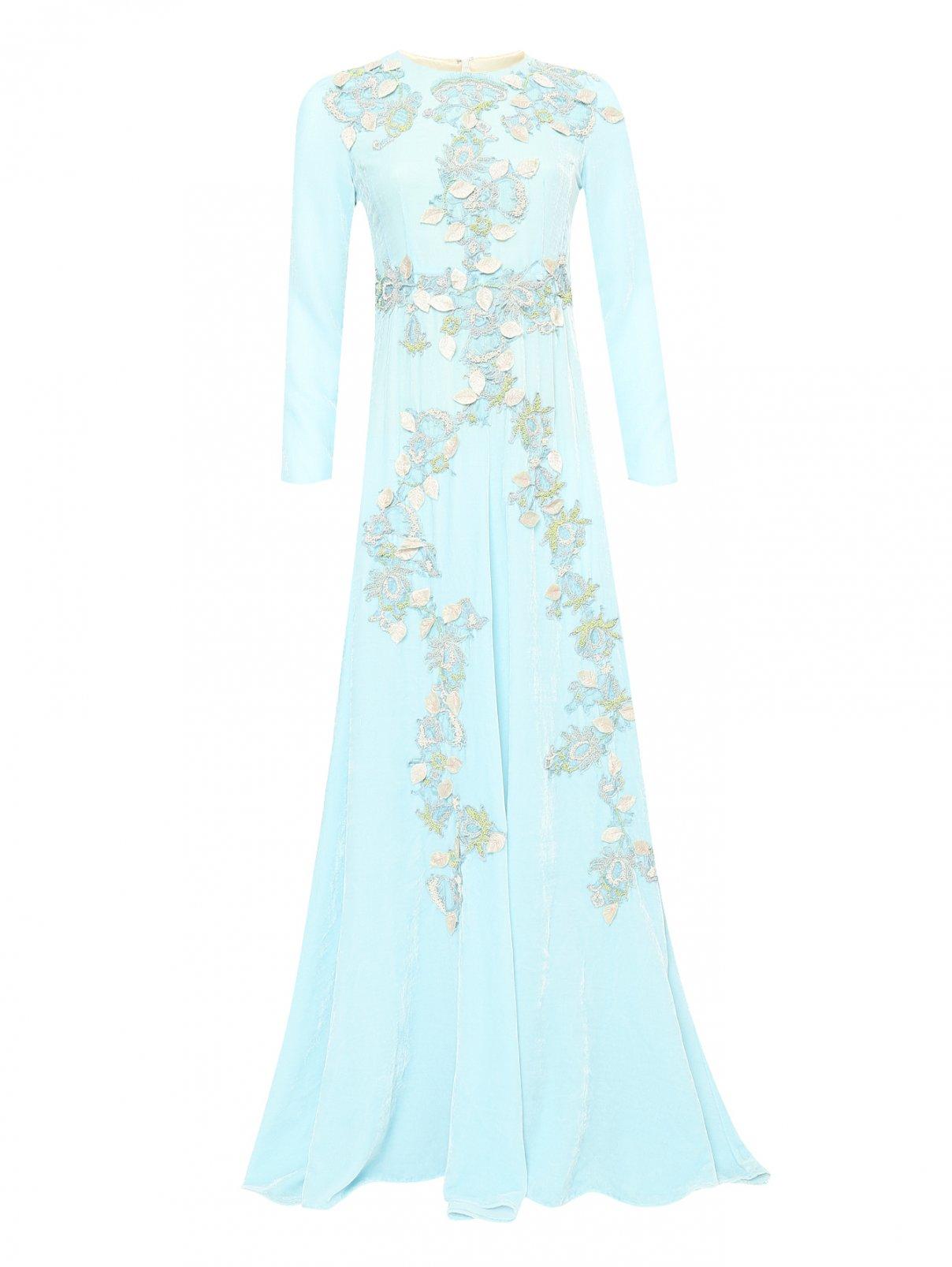 Платье-макси с декоративной аппликацией Antonio Marras  –  Общий вид