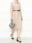 Платье-миди с поясом Marina Rinaldi  –  МодельОбщийВид