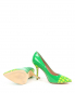 Туфли из лаковой кожи с узором Moschino Cheap&Chic  –  Обтравка5