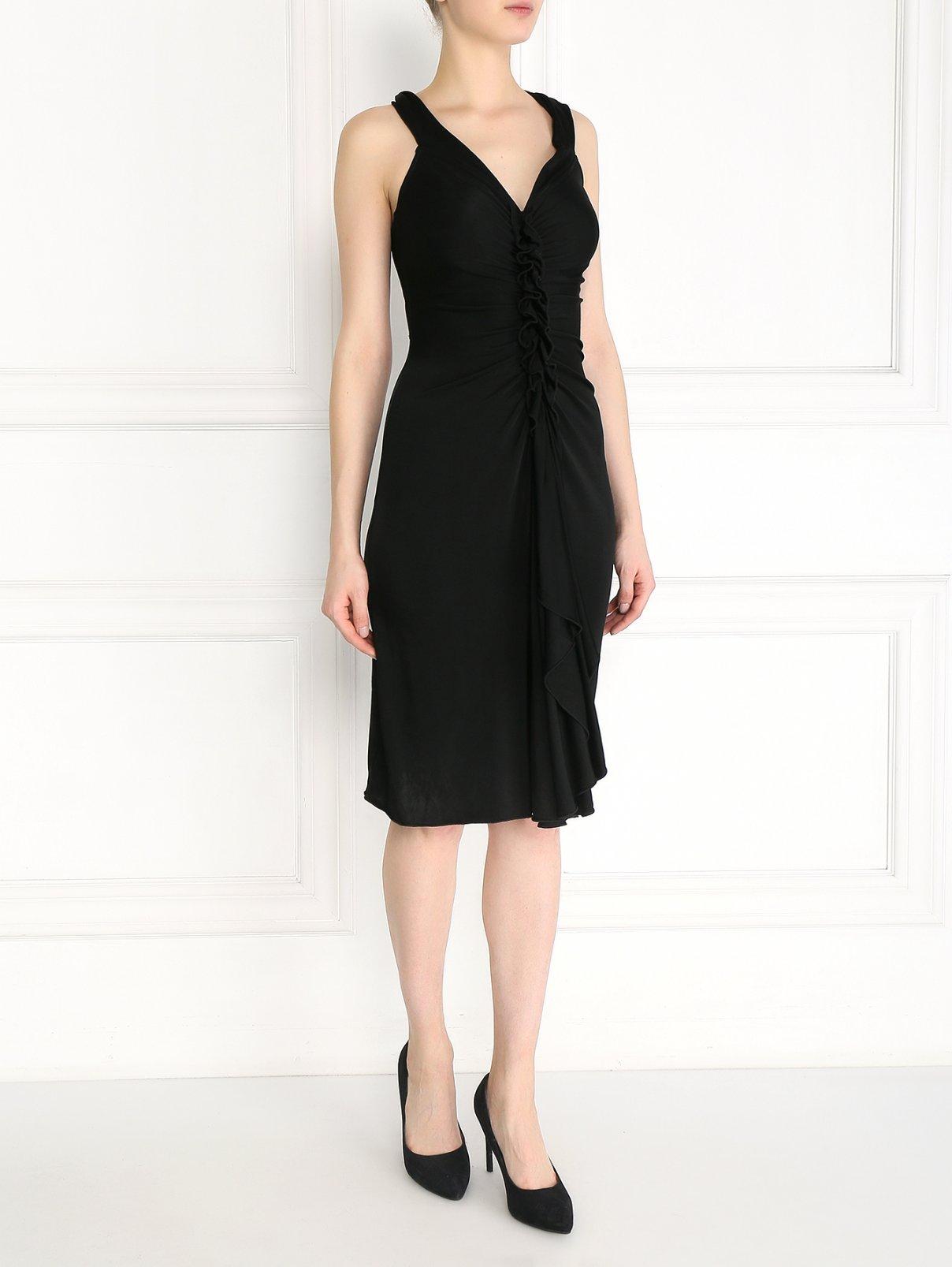 Платье с драпировкой Temperley London  –  Модель Общий вид