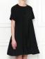 Платье свободного кроя с короткими рукавами Moncler  –  МодельВерхНиз