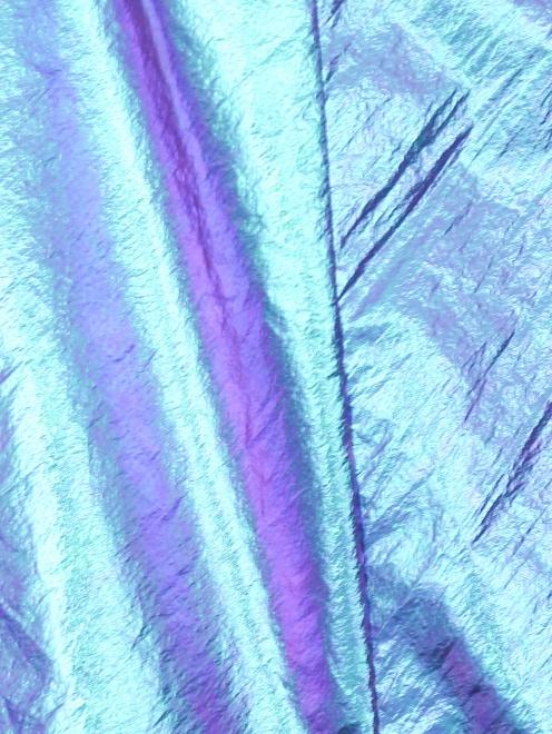 Юбка миди с покрытием металлик - Деталь