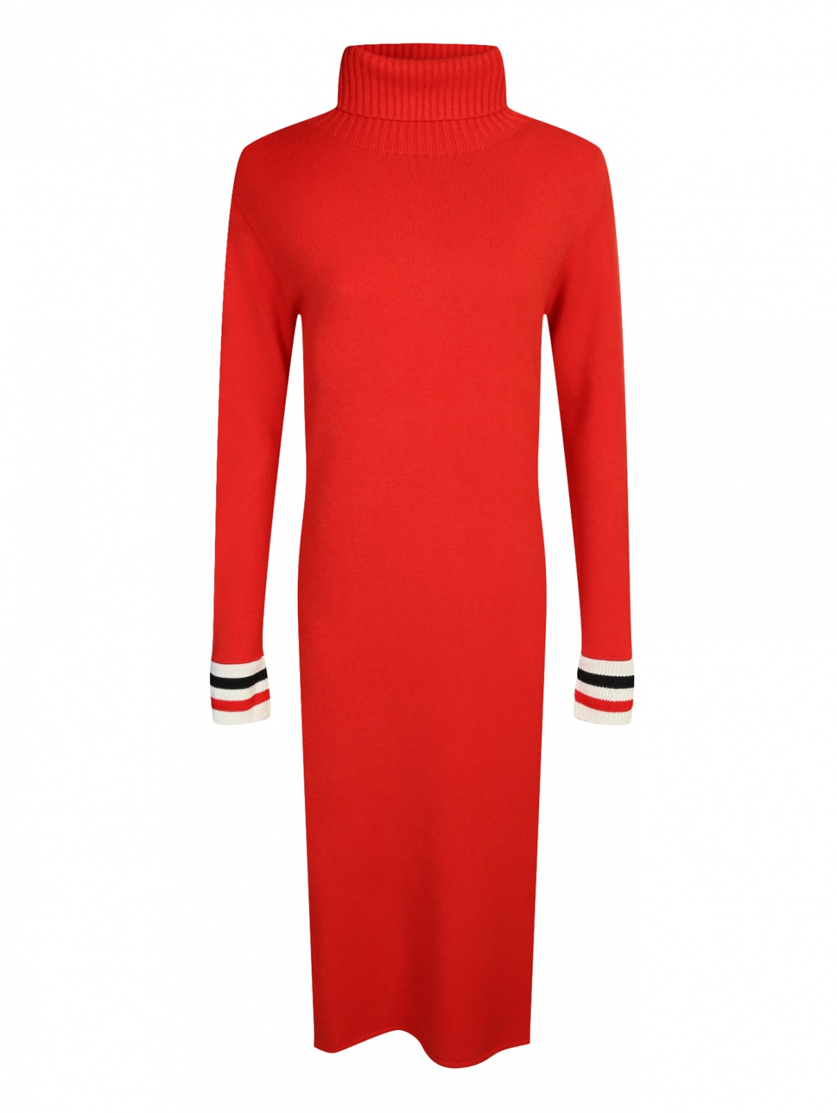Трикотажное платье из шерсти L'Edition  –  Общий вид