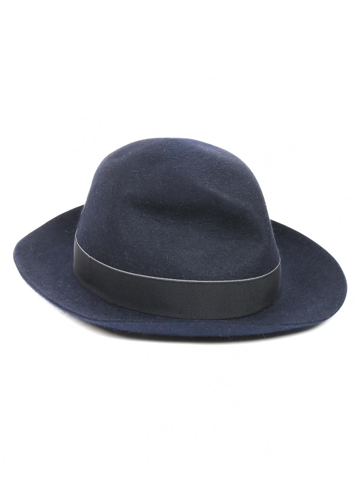 Шляпа из шерсти Borsalino  –  Общий вид  – Цвет:  Синий
