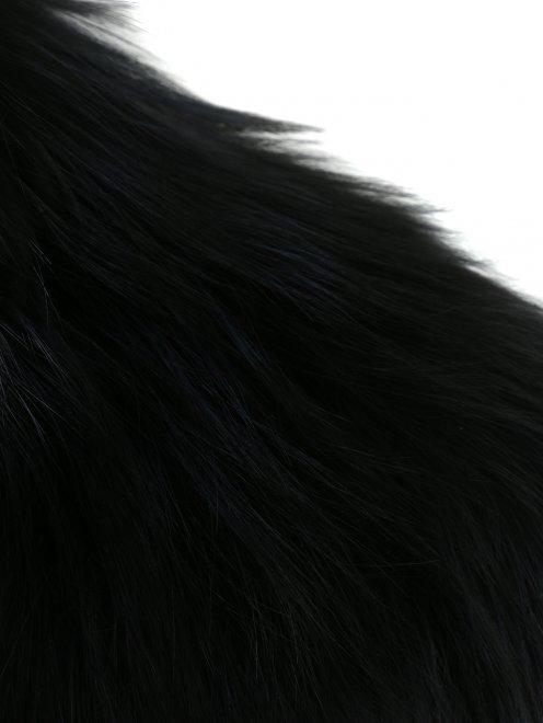 Жилет из аргентинской лисы - Деталь