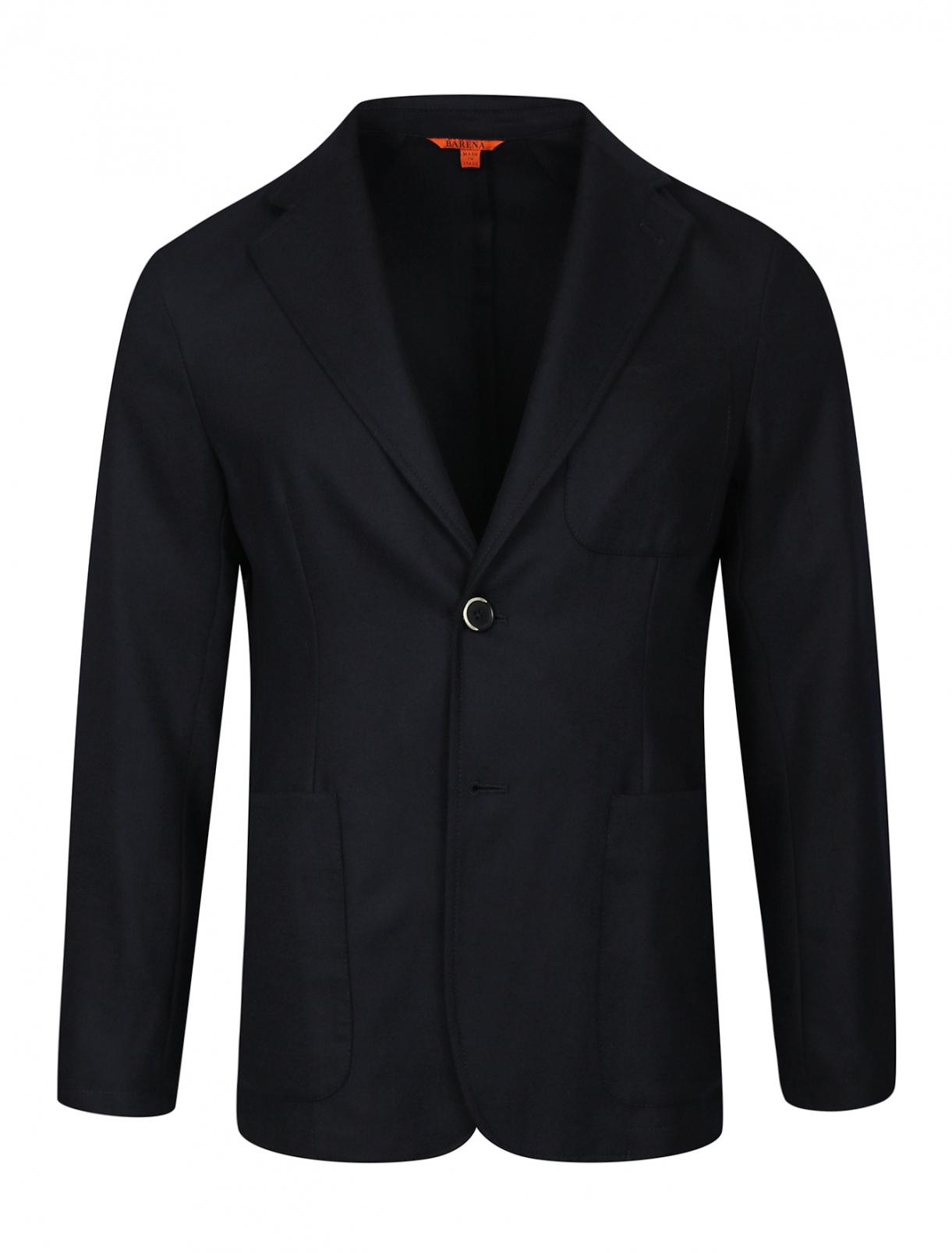 Пиджак из шерсти Barena  –  Общий вид