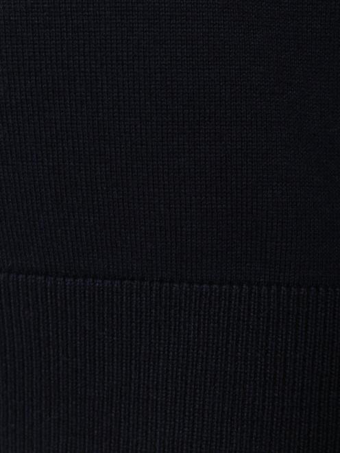 Джемпер из шерсти мелкой вязки - Деталь1