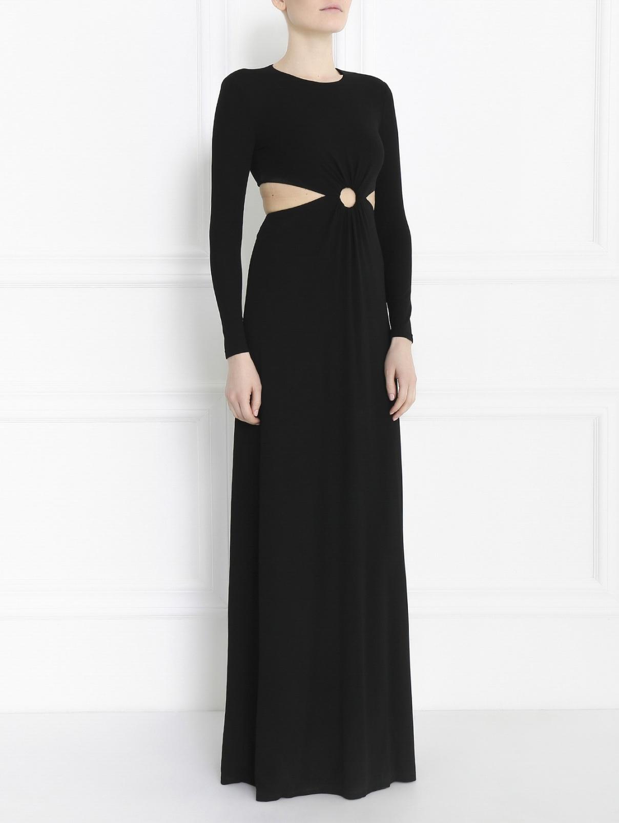 Платье-макси с вырезом на талии Michael Kors  –  Модель Общий вид
