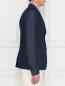 Пиджак однобортный из денима Gucci  –  Модель Верх-Низ2