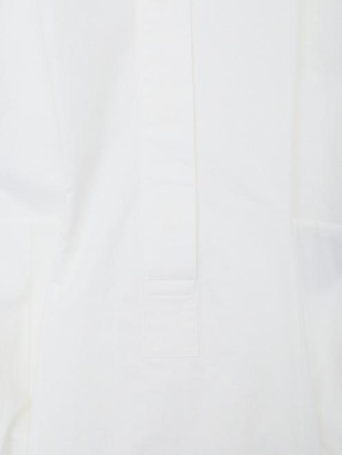 Платье хлопковое со сборкой - Деталь