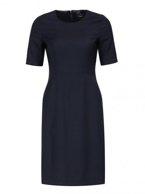 Платье-футляр из шерсти - Общий вид