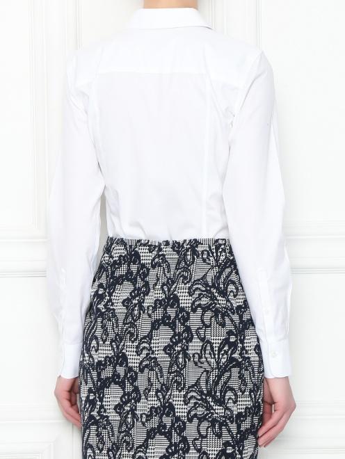 Рубашка из хлопка приталенного кроя - МодельВерхНиз1