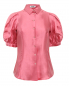 Блуза из шелка Moschino  –  Общий вид
