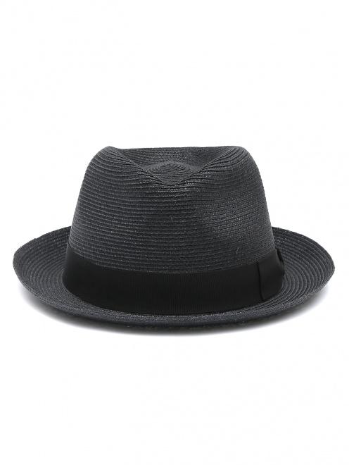 Шляпа из соломы с лентой  - Обтравка1