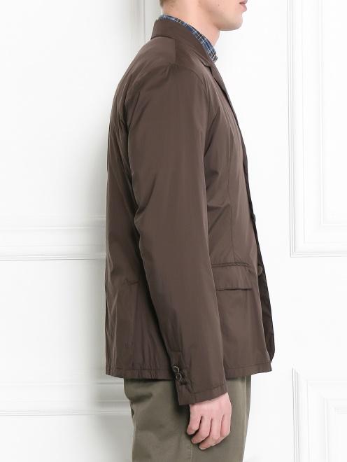Пиджак из влагоотталкивающей ткани - Модель Верх-Низ2