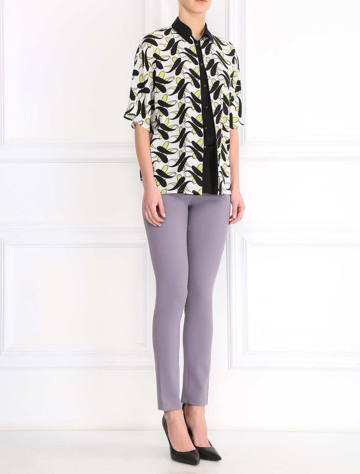 Узкие брюки из шерсти Andrew GN  –  Модель Общий вид