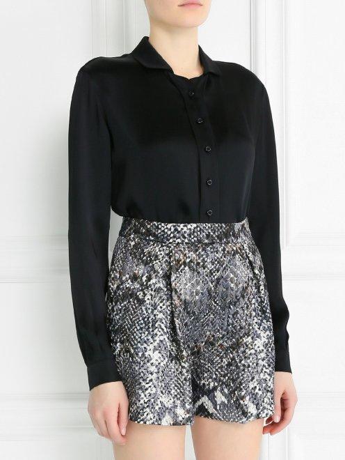 Блуза свободного кроя - Модель Верх-Низ