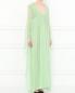 Платье-макси с высокой талией и асимметричными рукавами Alberta Ferretti  –  Модель Верх-Низ