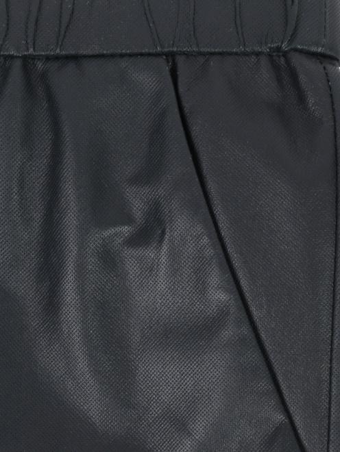 Брюки кожаные на резинке - Деталь1