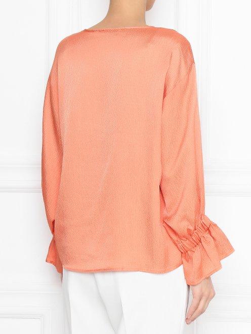 Блуза свободного кроя - МодельВерхНиз1