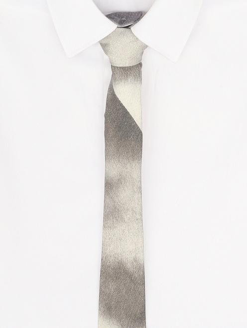 Галстук из шелка  - Модель Общий вид