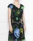 Платье из хлопка с цветочным узором Persona by Marina Rinaldi  –  МодельВерхНиз