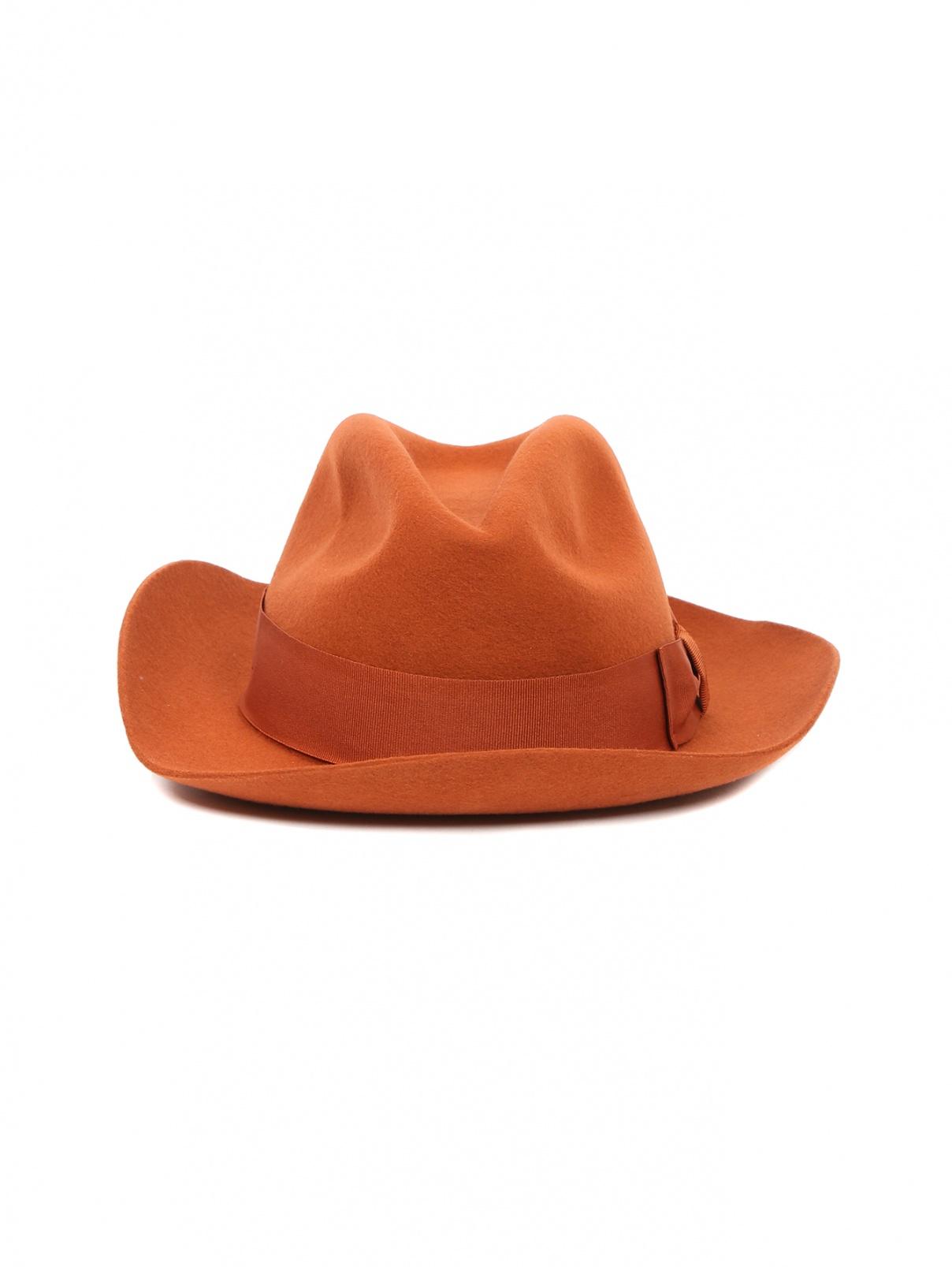 Шляпа из шерсти Paul Smith  –  Общий вид  – Цвет:  Оранжевый