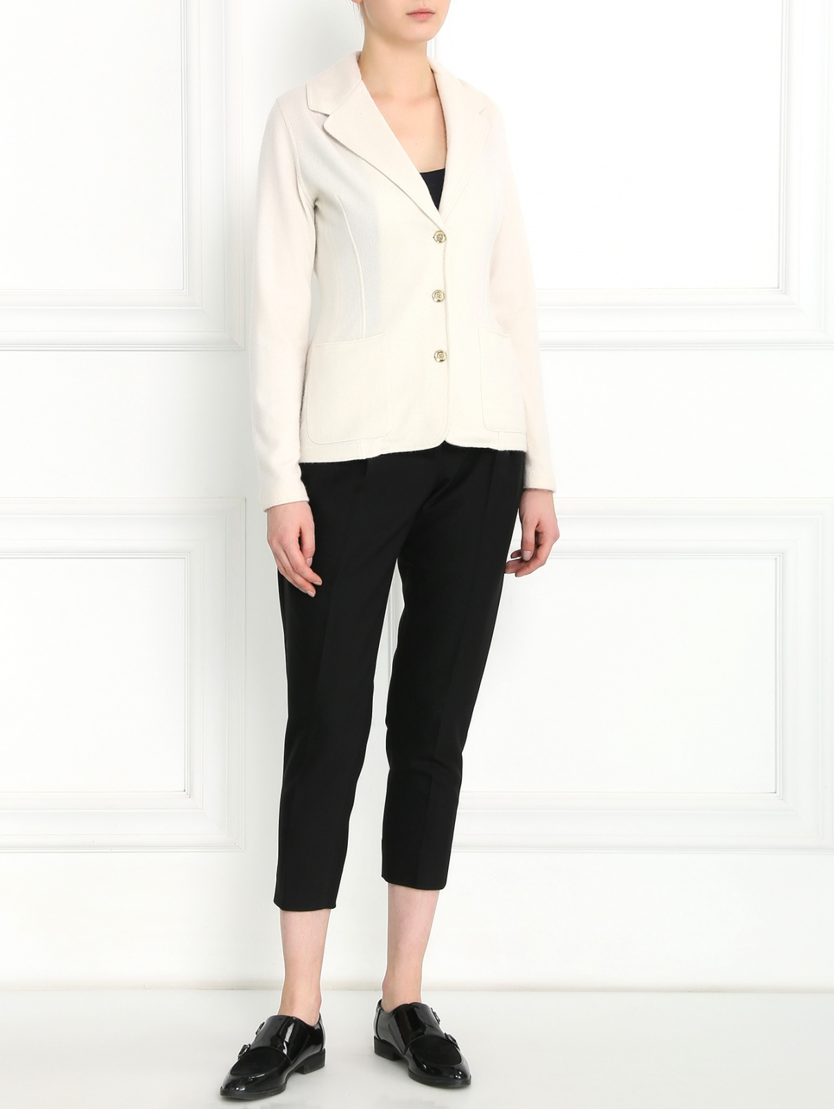 Укороченные брюки с боковыми карманами Max&Co  –  Модель Общий вид