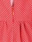 Платье-миди из хлопка с узором Petit Jete  –  Деталь
