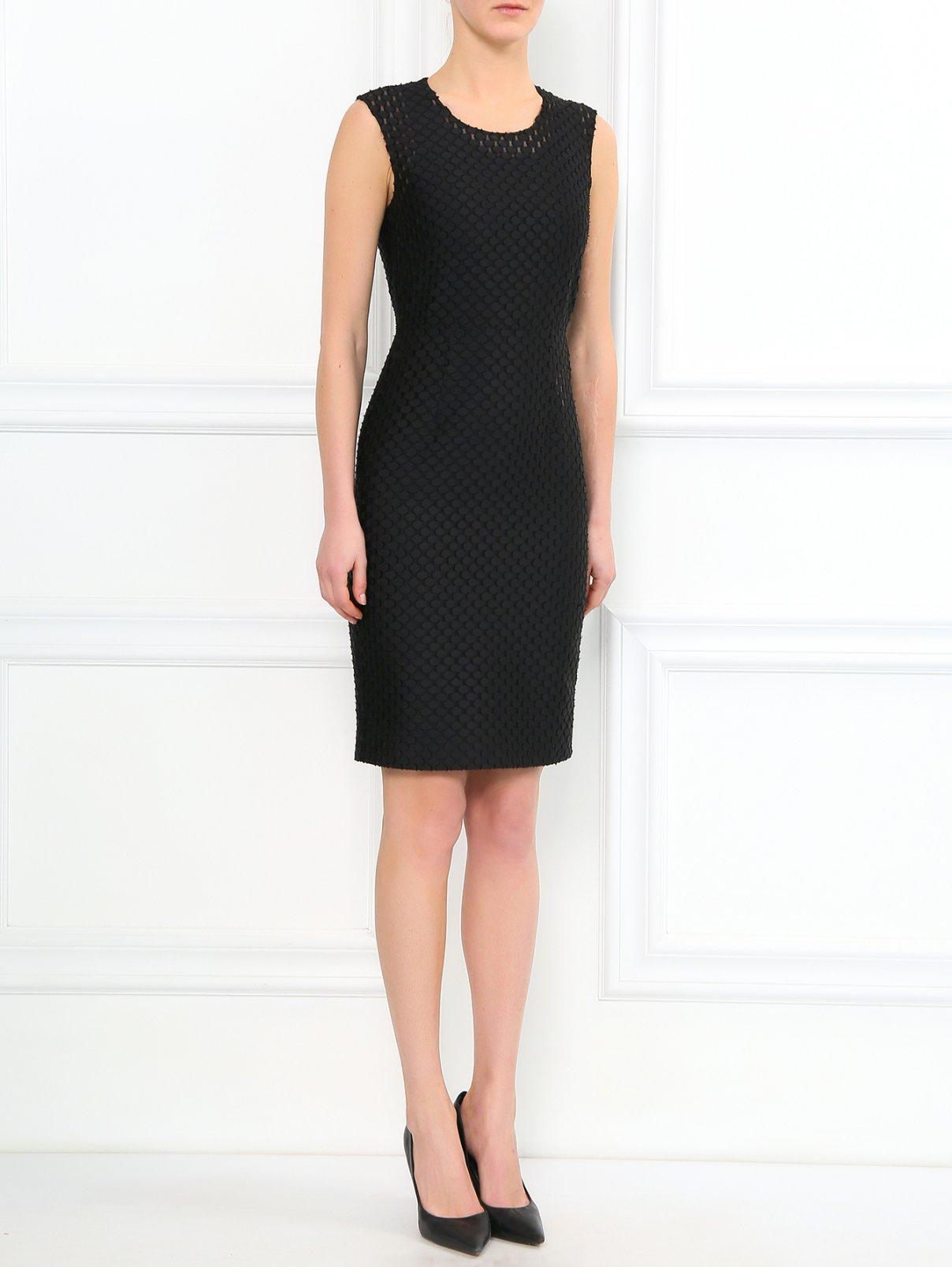 Платье-футляр без рукавов Burberry  –  Модель Общий вид