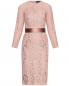 Платье-футляр из шелкового кружева Max Mara  –  Общий вид